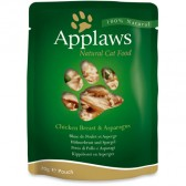 Applaws poulet et asperges pochette chat