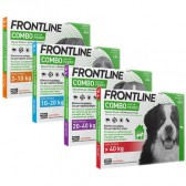 Frontline Spot On Combo Chiens 3 pipettes