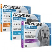 Frontline Spot On Perros 6 Pipetas
