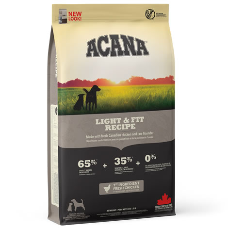 Pienso para perros Acana Light & Fit