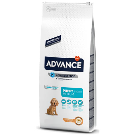 Pienso para perros Advance Puppy Medium Baby Protect