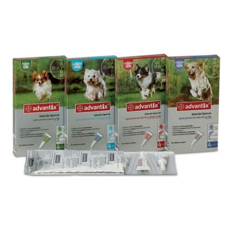 Advantix chiens 6 Pipettes